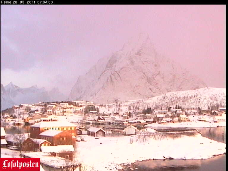 Svolvaer webcam - Svolvaer Reine webcam, Nordland, Vagan